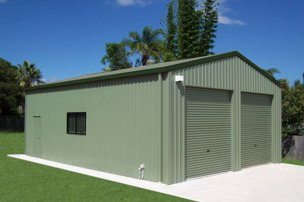how to build a shed on a concrete slab