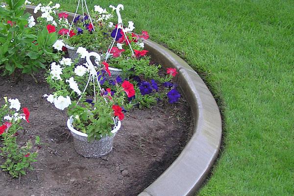 Concrete Garden Edging Thundercrete
